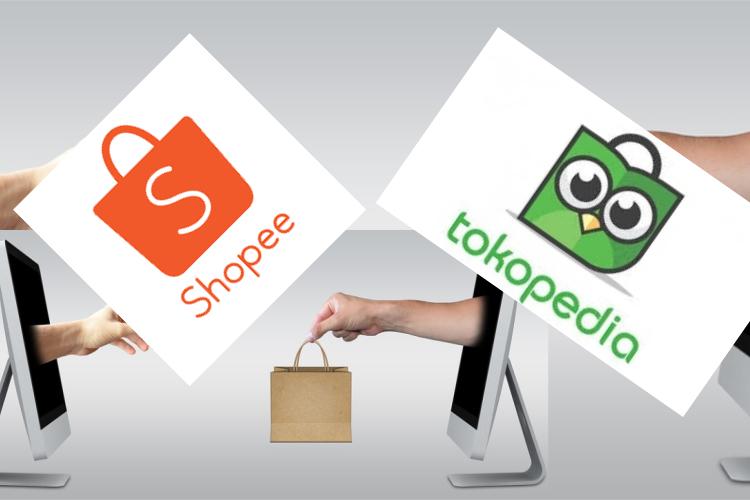 Dari sekian market place di Indonesia, saat ini sangat mencolok persaingan antara Tokopedia vs Shopee. Seperti apa adu kekuatannya?