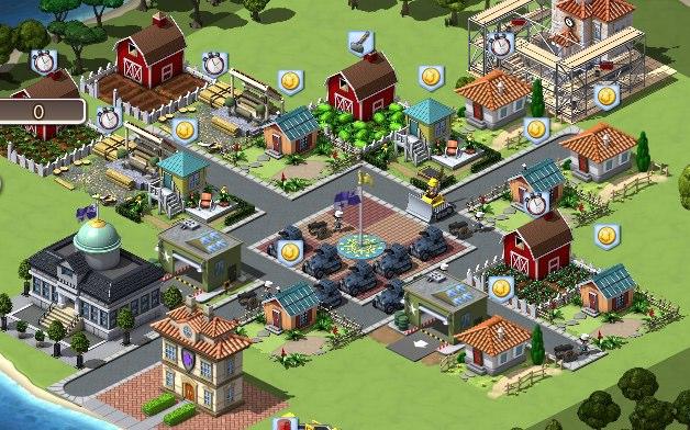 Game strategi yang didevelop oleh Zynga ini memiliki konsep yang mirip dengan Clash of Clans