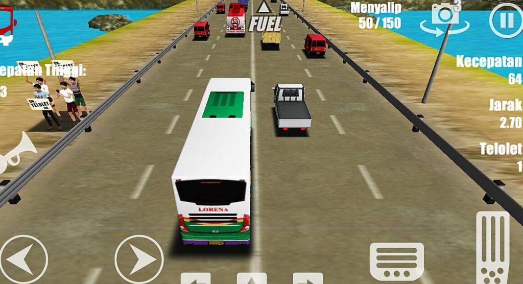Om telolet om!! Bus driving simulator karya anak bangsa, dengan pilihan bus yang ada di Indonesia. Begitu juga dengan lalu lintasnya yang dipenuhi kendaraan-kendaraan yang juga ada di Indonesia.