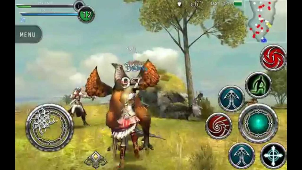 Mobile MMO RPG Gameplay: Avabel Online