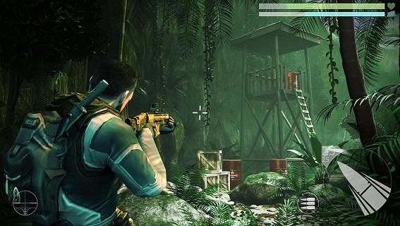 Game bergenre third person shooting game ini juga didesain dengan grafik yang oke punya.