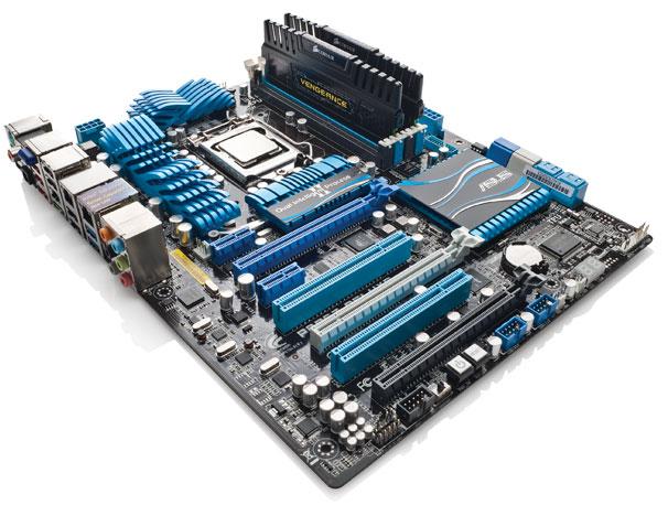 Sesuai dengan namanya, motherboard (atau mainboard) adalah papan induk / papan utama sebagai media untuk saling mengubungkan antar komponen komputer. Di sinilah semua komponen internal terpasang.