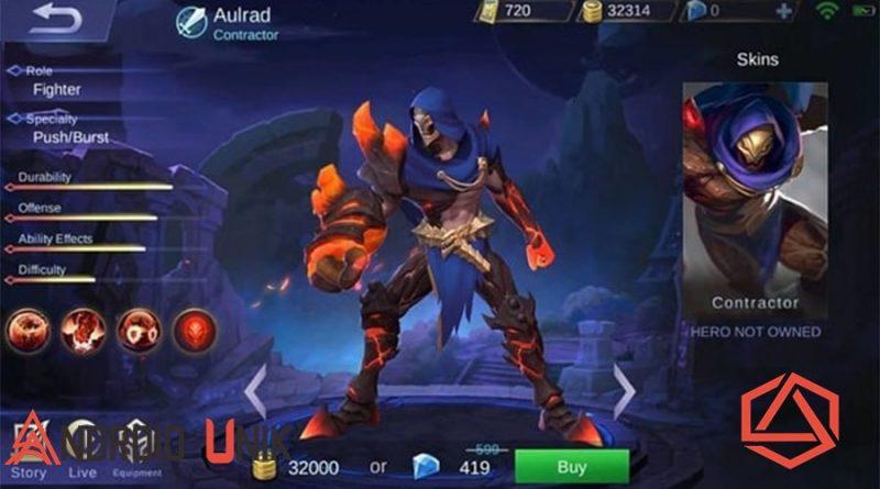 Hero Aldous yang mematikan dirilis pada bulan Agustus tahun lalu, namun hero ini kalah populer dari sosok Selena yang lebih dulu dirilis sebelumnya