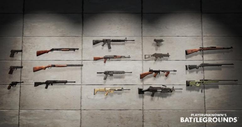 Layaknya shooting game pada umumnya, PUBG menyediakan berbagai senjata yg diadopsi dari model senjata nyata. Seperti apa karakteristik jenis senjatanya?