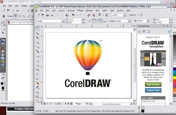 CorelDRAW merupakan produk dari Corel Corporation yang sangat populer sebagai tools untuk desain grafis.