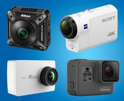 Kamera action kini bukan lagi gadget yang mewah. Semakin banyaknya peredaran action camera yang murah meriah menjadikan pilihan semakin banyak.