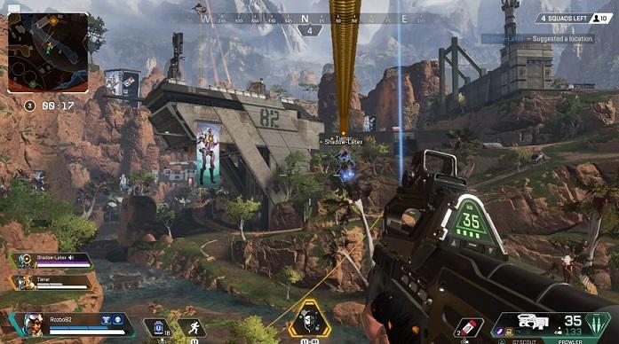 Apex Legends merupakan First Person Shooting Game yang berkonsep battle royale dengan tema masa depan yang futuristik.