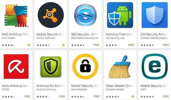 Pencegahan terhadap Malware/Virus juga diperlukan di smartphone Android. Beberapa aplikasi ini dapat anda instal untuk pencegahan.