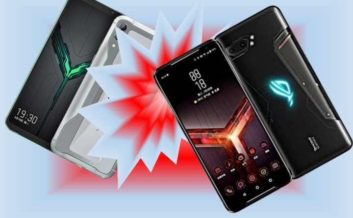 Xiaomi Black Shark 2 vs Asus ROG Phone